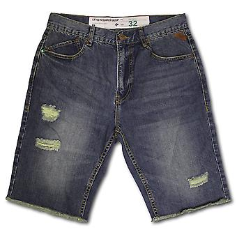 LRG Nomad wahr gerade Jeans Walk Shorts todsichere Wash