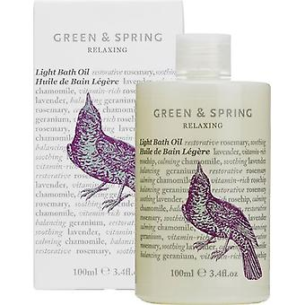 Green & Spring Relaxing Light Bath Oil