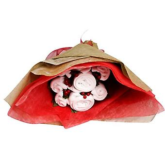 Twins - Welcome Baby Bouquet - Christmas