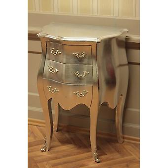 Silver Shabby Chic vintage chest of drawers | Strike now!