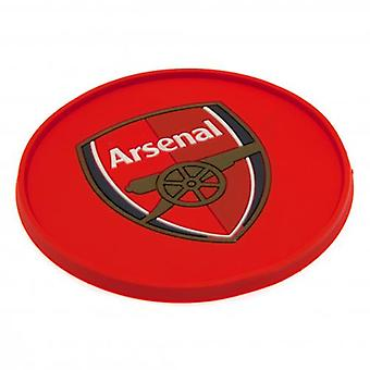 Arsenal Silicone Coaster