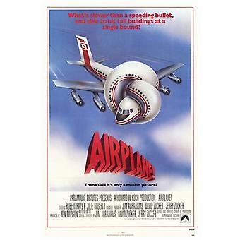 Flugzeug-Film-Plakat-Druck (27 x 40)