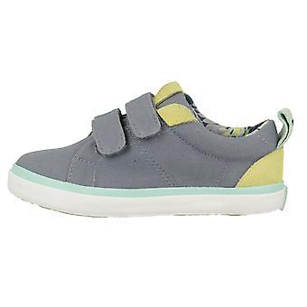 Gioseppo niños Smith lienzo zapatos gris