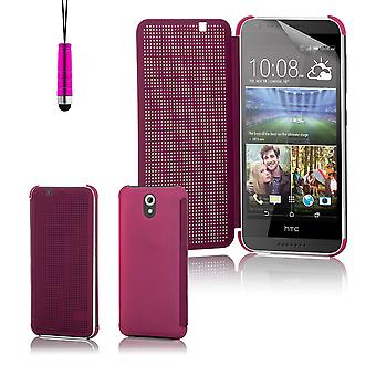 Dot matrix case cover for HTC Desire 620 - Purple