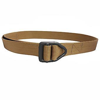 Bison Designs Last Chance Heavy Duty Black Buckle Belt - Coyote Brown