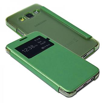 Smart Cover Green Window pour Samsung Galaxy A5 A500 A500F