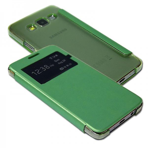 Smart cover window green for Samsung Galaxy A5 A500 A500F