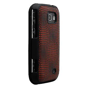 Technocel Snap-on Case Cover for Samsung M920 Transform (Chrome/Black) - SAM920S
