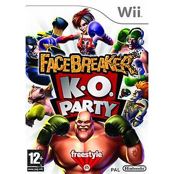 Facebreaker K.O Party Nintendo Wii Game