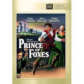 Prince of Foxes [DVD] USA import