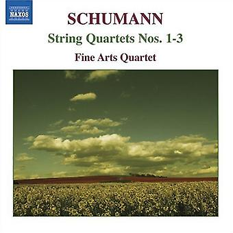 R. Schumann - Schumann: String Quartets Nos. 1-3 [CD] USA import