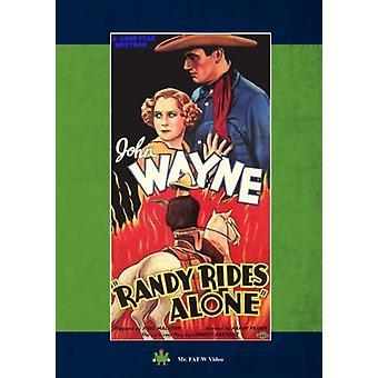 Randy rijdt alleen [DVD] USA import