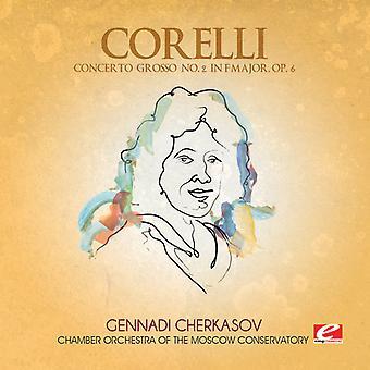 A. Corelli - Concerto Grosso 2 F-dur [CD] USA import