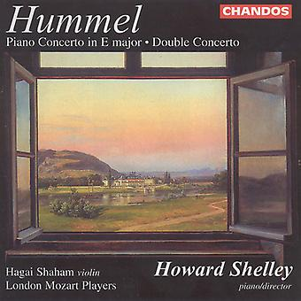 J.N. Hummel - Hummel: Concertos for Piano & viool [CD] USA import