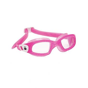 Aqua Sphere Kameleon Kids -3-6 years- Swim Google-Clear Lens-Pink/White