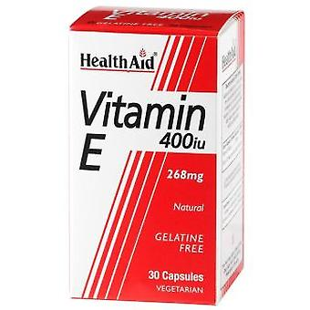 Health Aid Vitamine E naturelle 400 UI 60Vcap. Health Aid