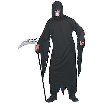 Costume Schreier black robe with hood mens Gr. L
