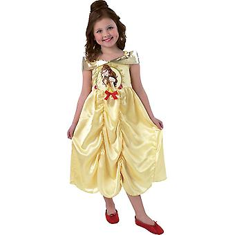 Belle beauty from beauty and the beast kids costume 3-4 years