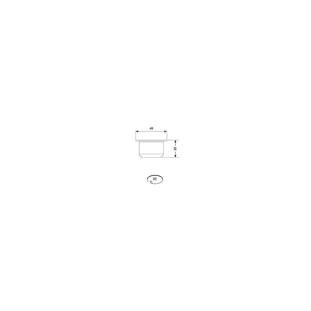 Ansell Melita LED Plug & Play Kit 5 X 0.5W LED Brushed Aluminium