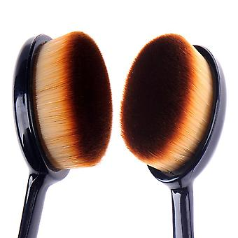Boolavard Professional Oval Makeup Brush Foundation Blend Beauty Cosmetic Brushes Tool