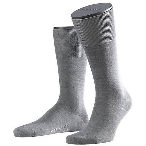 Falke Wool / Cotton Airport Socks - Grey