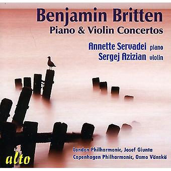 B. Britten - Piano & Violin Concertos [CD] USA import