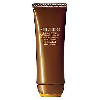Shiseido Brilliant Bronze Self-Tanning Emulsion 100 ml