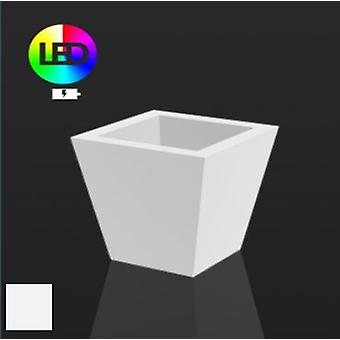 Vondom Flower pot square cone 50x50x50leds rgb ice 41150l
