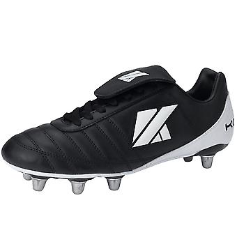 KOOGA Classic CS-4 Low Cut Soft Toe Rugby Boots [black]