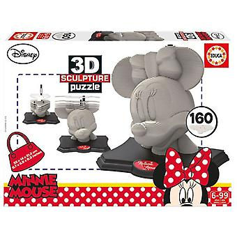 Educa 3D Minnie (Toys , Boardgames , Puzzles)