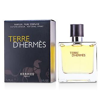 Terre D'Hermes ren Parfum Spray 75ml/2,5 oz