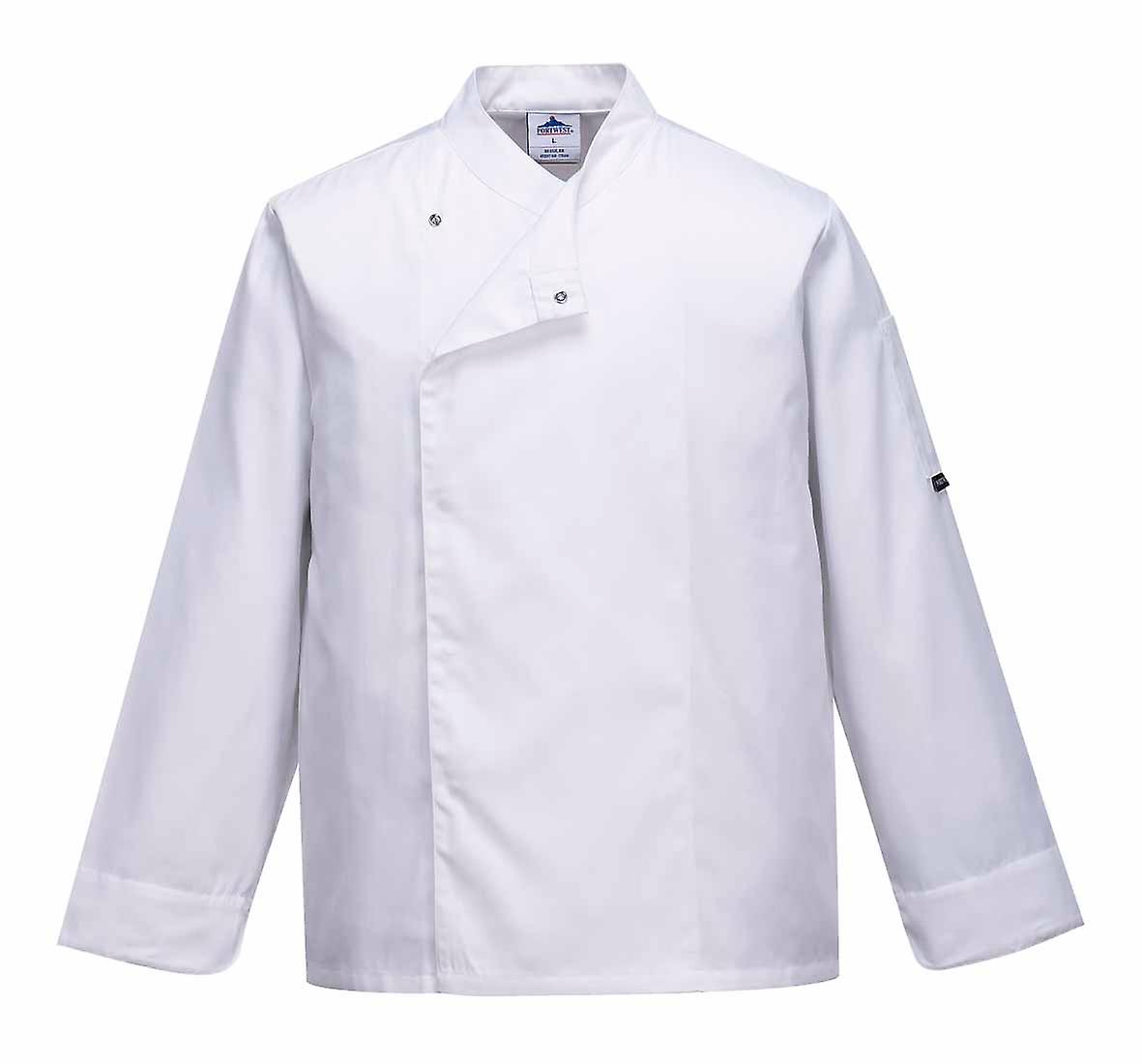 Portwest - Cross-Over Chefs Kitchen Workwear Jacket