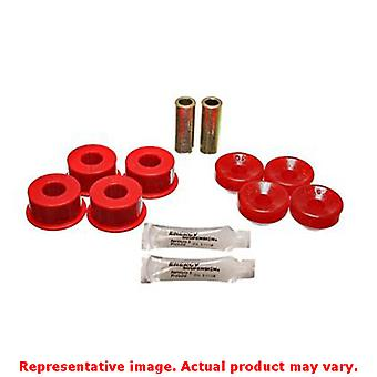 Energy Suspension Shock superieur/inferieur Bushing Set 16.8106R haut Front rouge / Lowe