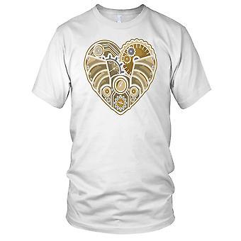 Steampunk Heart Ladies T Shirt