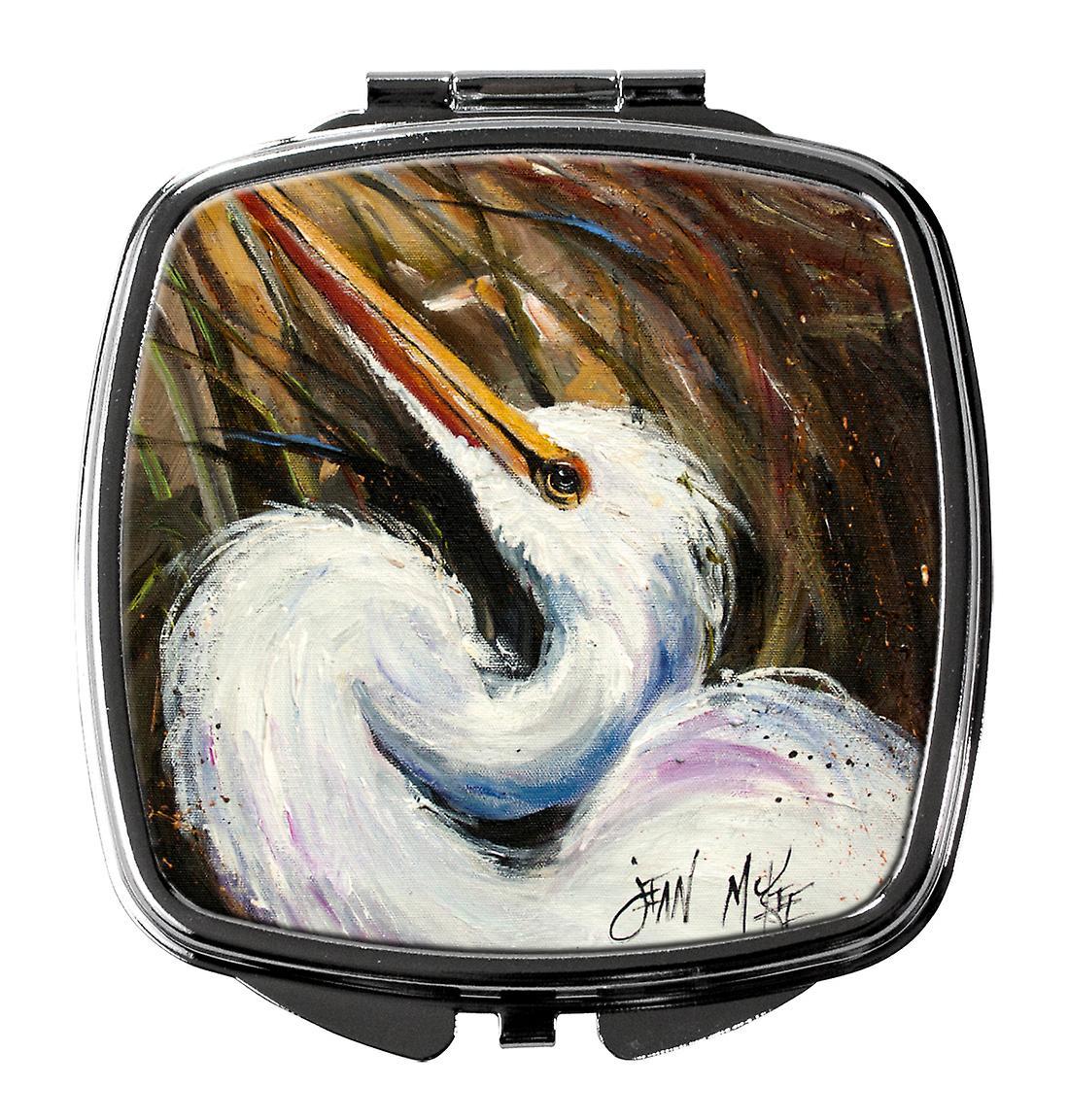 Carolines Mirror Jmk1214scm White Egret Treasures Compact 80Nmnw