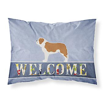 Saint Bernard Welcome Fabric Standard Pillowcase