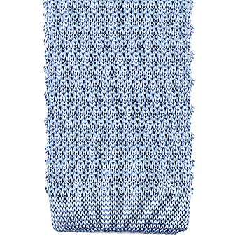 Knightsbridge Neckwear Knitted Tie - Light Blue