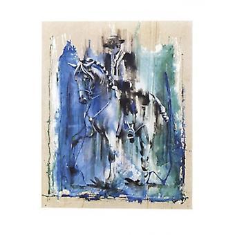 Caballero Azul Poster Print von Rolf Knie (16 x 20)