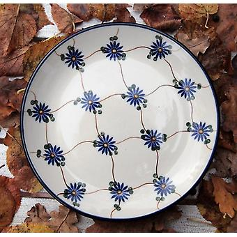 Dessert plate / cake plate, ø 20 cm, tradition 8, polonaise poterie - BSN 1214