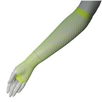 網目ロング指なし手袋