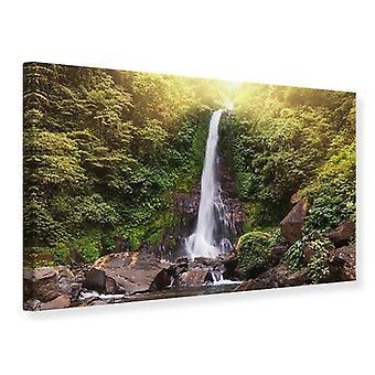 Lona impresión cascada Bali