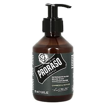 Proraso Cypress & Vetyver Beard Wash 200ml