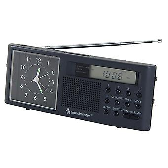 Analog AM FM UR970 clockradio