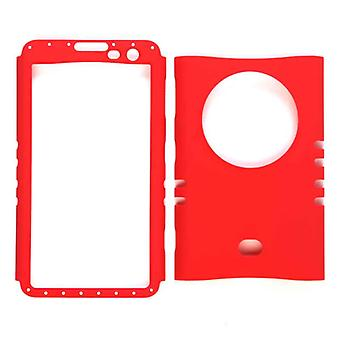 Unlimited Cellular Rocker Snap-On Case for Nokia Lumia 1020 (Fluorescent Red)