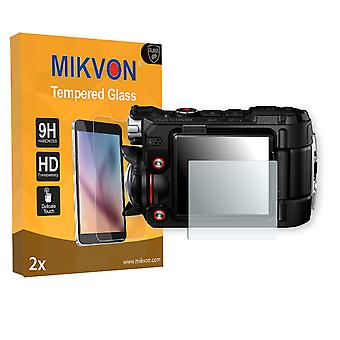 Olympus TG-Tracker Screen Protector - Mikvon flexible Tempered Glass 9H (Retail Package with accessories)