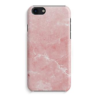 iPhone 7 Full Print Case - Pink Marble
