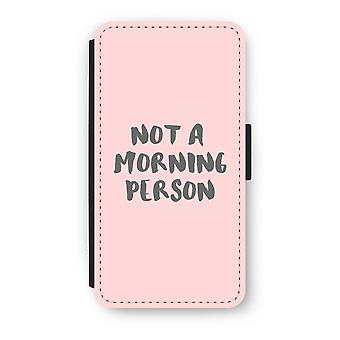 iPhone X Flip Case - Morning person