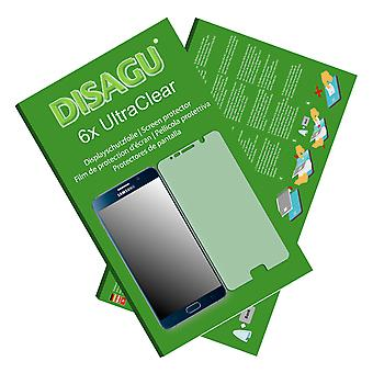 Samsung Galaxy touch 5 duos (SM N920CD) screen protector (deliberately smaller than the display, as this is arched)