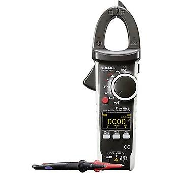 Clamp meter Digital VOLTCRAFT VC-590OLED Calibrated to: Manufacturer's standards (no certificate) OLED display CAT III 6