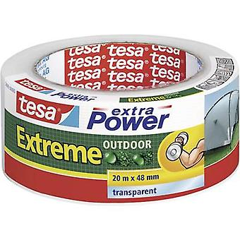 Cloth tape tesa tesa® extra Power Transparent (L x W) 20 m x 48